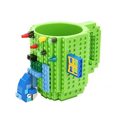 Brick Mugs [Updated Version] Fubarbar Creative DIY Building Coffee...