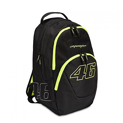 Valentino Rossi VRFortysix 46 Backpack, schwarz/gelb, Moto GP