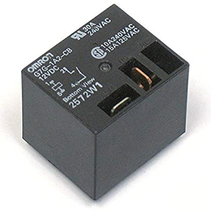 Amazon com: Omron G7G 12V DC Relay SPST NO Contacts 30A 240VAC, 155