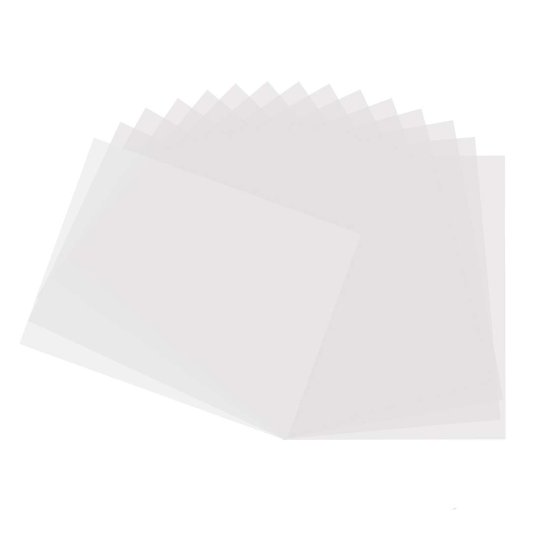 10 Pack 6 mil Blank Stencil Making Sheets 12 x 12 inch Compatible Cricut & Silhouette Machine (Mylar Material) KOMIWOO 10 Blank Stencil