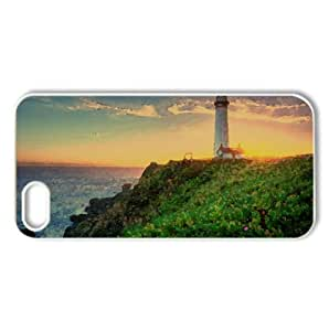 Pigeon Point Lighthouse, California Watercolor style Cover iPhone 5 and 5S Case (California Watercolor style Cover iPhone 5 and 5S Case)
