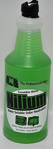 Nilium Cucumber Melon Scent Water Soluble Odor Neutralizer 32 oz.