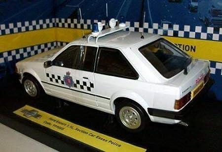 MODEL Icons Ford Escort Auto della polizia 999002 9990 03 999004 999005 1:18th Essex