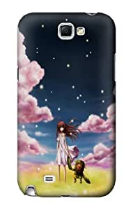 S0942 Clannad Ushio Case Cover for Samsung Galaxy Note 2
