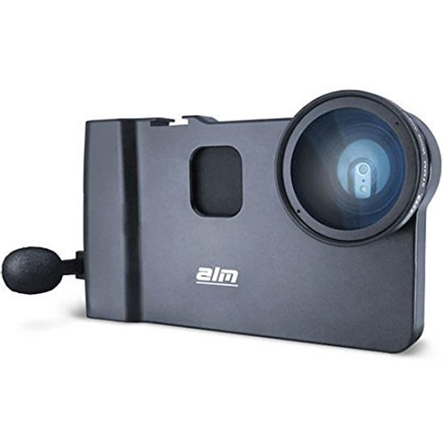 ALM mCAMLITE Stabilizer Mount with Video Lens & Mic for iPhone 6 Plus/6S Plus by ALM