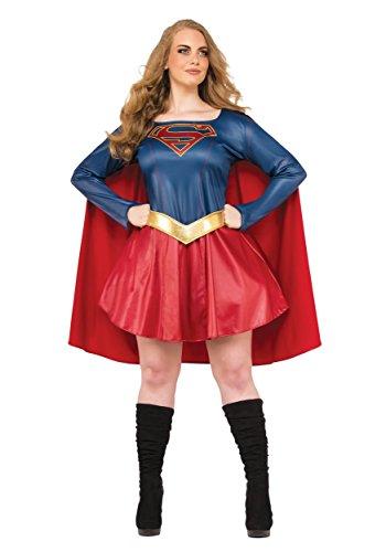 Rubie's Women's Supergirl TV Plus Size Costume, Multi