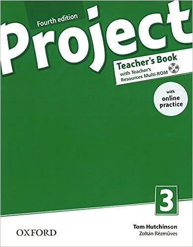 Descargador de libros en línea Project 3 Teacher's Book & Online Prac Pk 4Ed (Project English) PDF ePub MOBI