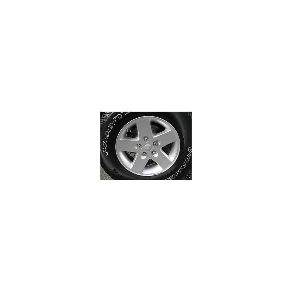17 Inch Jeep Wrangler Wheels/rims (Set of 5 Rims)