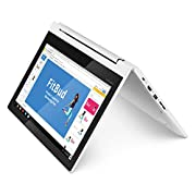 Lenovo Chromebook C330 2-in-1 Convertible Laptop, 11.6-Inch HD (1366 x 768) IPS Display, MediaTek MT8173C Processor, 4GB…