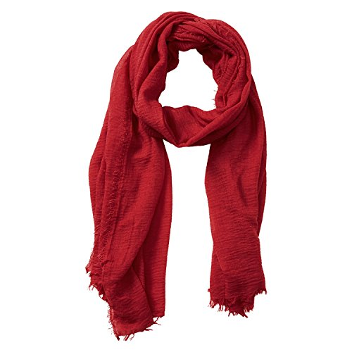 extra long cotton scarf - 1