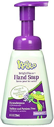 Kandoo BrightFoam Hand Soap, Magic Melon Scent, 8.4 Fluid Ounce
