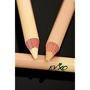 EVXO Duo Concealer/Highlighter Pencil, 95% Organic, Vegan, Cruelty-Free, Gluten Free