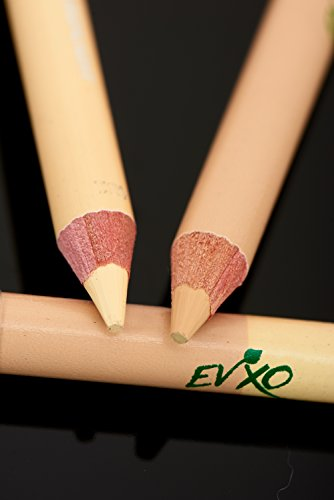 Pencil Concealer Cruelty (EVXO Duo Concealer/Highlighter Pencil, 95% Organic, Vegan, Cruelty-Free, Gluten Free)