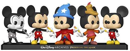 Funko Pop! Disney Archives - Mickey Mouse 5 Pack, Amazon Exclusive