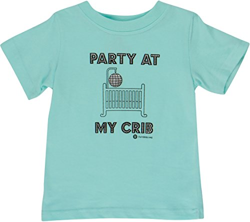 Fayfaire Baby Gifts Boutique Quality: Funny Shirts Party at My Crib (Funny Holiday Onesie)