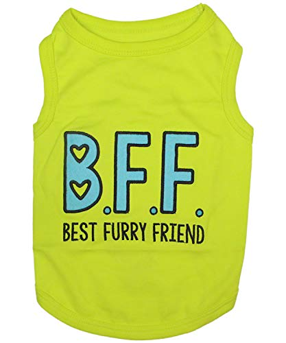 - Parisian Pet Funny Cute Dog Cat Pet Shirts Caution Can't Control My Licker, I Work Out, Little Monster, WTF, BFF, Bling $, Got Treats, Babe Magnet, Little Miss Attitude (Best Furry Friend, XL)