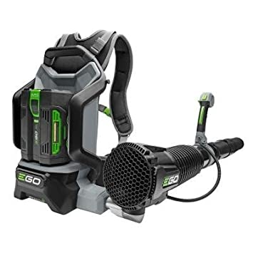 Backpack Blower with Brushless Cordless Motor Features Jet-Engine Inspired Turbine Fan, EGO s ARC Lithium Battery Technology and Robust Tool Construction, Ideal for Outdoor Cleaning