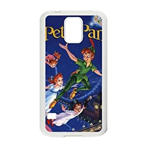 Peter Pan Samsung Galaxy S5 Cell Phone Case White xlb-252735