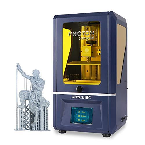 ANYCUBIC Photon Mono SE Resin 3D Printer, UV LCD SLA 3D Printer Ultra Fast Printing with 6″ 2K Mono Screen and WiFi Function, Dual Z-axis Linear Rail, Print Size 5.12″(L) x 3.07″(W) x 6.29″(H)