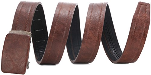 Buckle Opener Bottle Beer Belt (Marino Genuine Leather belt for Men, 1.5