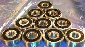 6003-2RS C3 Premium Sealed Ball Bearing 17x35x10mm