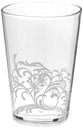 Corelle Coordinates by Reston Lloyd Boutique Cherish Acrylic Juice Glasses, 8-Ounce, Set of 6