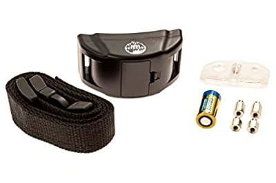 Dog No Bark Collar for Bark Control 7 Levels Adjustable Sensitivity Control, for 15-120 Pounds Dogs, No Harm Warning Beep and Shock
