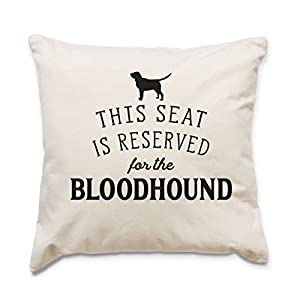 Affable Hound Reserved for The Bloodhound - Cushion Cover - Dog Gift Present 26