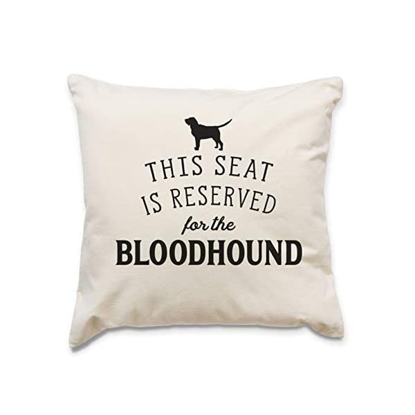 Affable Hound Reserved for The Bloodhound - Cushion Cover - Dog Gift Present 1