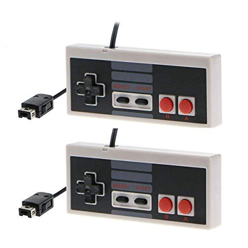 Cooldiy 2 Packs NES Controller for Nintendo Classic Mini Edition