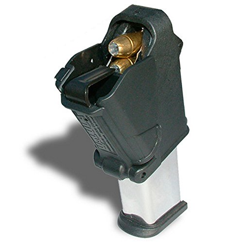 UpLULA Hks Mag Loader - 9mm to 45ACP Maglula Uplula Handgun Speed Magazine Loader. Loads All 9mm Luger, 10mm.357 Sig, 10mm.40, and .45ACP Cal xd