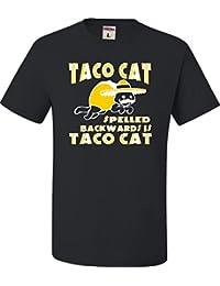 7ebfe24c8 Adult Taco Cat Spelled Backwards Is Taco Cat Funny T-Shirt