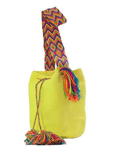 Buritaka Artesanias Bolso tejido Wayuu, hecho a mano