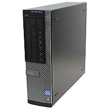 Dell Optiplex 9010 High Performance Flagship Business Desktop Computer, Intel Quad-Core i5, 16GB DDR3 RAM, 1TB HDD, DVD, USB 3.0, Win 10 Pro (Renewed) (9010 16GB 1TB)
