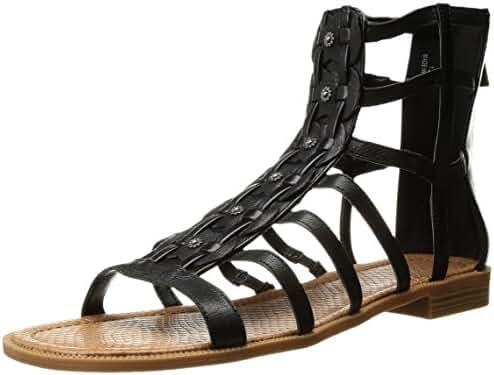 Nine West Women's Xeron Leather Gladiator Sandal