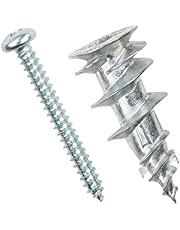ITW 25125 EZ Ancor Hollow Door and Drywall Anchors, 4-per Pack