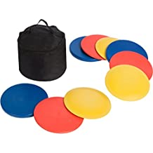 Trademark Innovations Disc Golf Set (9 Discs) with Disc Golf Bag