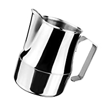 MagiDeal Stainless Steel Espresso Coffee Pitcher Craft Latte Milk Frothing Jug 3 Sizes - 500ml
