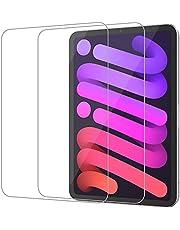 JETech Schermbeschermer Compatibel met iPad mini 6 (8,3-Inch, 2021 Model, 6e Generatie), Gehard Glas Screen Protector, 2 Stuks