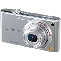 Panasonic Lumix DMC-FX35S 10MP Digital Camera with 4x Wide Angle MEGA Optical Image Stabilized Zoom (Silver)
