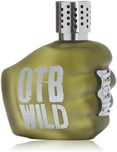 Diesel Eau De Toilette Spray for Men, Only The Brave Wild, 4.2 Ounce