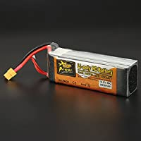 New ZOP Power 14.8V 4500mAh 4S 45C Lipo Battery XT60 Plug By KTOY