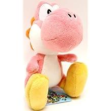 """Super Mario Plush - Yoshi Island - 5.5"""" - Pink"""