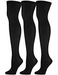 Women's 3-Pack Over The Knee Socks,