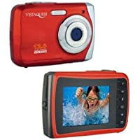 SPEEDO VQ-9100 12MP WP Cam Red - VQ9100R