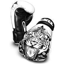 Tuff MuayThai Gloves Tiger White