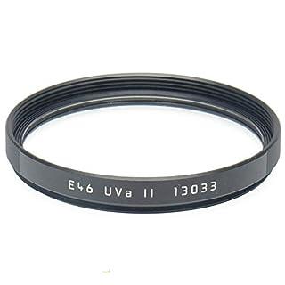 Leica E46 46mm UVa II Glass Filter, Black
