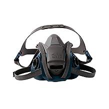 3M Rugged Comfort Half Facepiece Quick Latch 6502QL-Medium