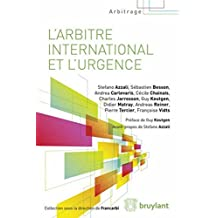 Arbitre international urgence