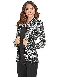 Frank Lyman Black & Grey Blazer Style 183276 - Fall 2018
